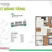 Hàng hiếm tại căn hộ Vista, căn góc 2 mặt tiền sông Sài Gòn siêu đẹp, 70m2, 2PN, 2WC ở liền năm nay