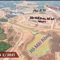 Cần bán lô đất 2 mặt tiền, mặt đại lộ 30m sau là hồ điều hòa dân cư đông đúc