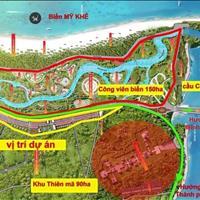 Bán đất nền ven biển Quảng Ngãi, dự án Mỹ Khê Angkora Park, Đất Xanh Miền Trung