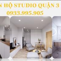 Bán căn hộ studio giá chỉ 999tr ngay trung tâm quận 3, tặng gói combo 16 món nội thất tiện nghi