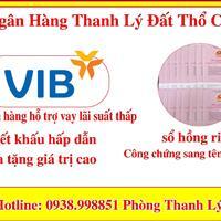Ngân Hàng VIB hỗ trợ thanh lý đất KDC Bình Lợi - Bình Chánh mặt tiền đường Tỉnh Lộ 10