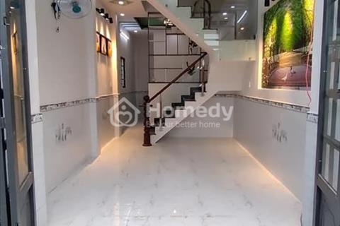 Bán nhà ở liền khu dân cư Hóc Môn 65m2, 3 phòng ngủ, 620 triệu, sổ hồng riêng sẵn nội thất