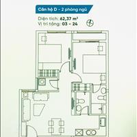 Căn hộ Dream Home Riverside quận 8 62m2, đầy đủ nội thất, giá 1.6 tỷ
