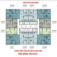 CC cần bán lại căn 2PN-52m2 tại dự án Rose Town 79 Ngọc Hồi, giá 1,45 tỷ bao phí,