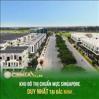 Biệt thự Centa Villas Từ Sơn Bắc Ninh - giáp ranh Hà Nội - NH hỗ trợ 70% xây 3 tầng 135m2