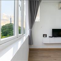 Cho thuê căn hộ dịch vụ 1 Phòng Ngủ tách biệt có ban công.