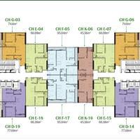 Cho thuê chung cư Eco Dream căn 3 phòng ngủ, 2WC, diện tích 95m2, giá 11tr/tháng