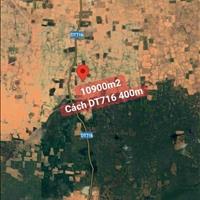 1,1ha đất Hòa Thắng, cách DT716 chỉ 300m, ngày khu quy hoạch CLN 2064