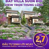 Đất làng sinh thái An Khuê - Bảo Lộc, giá chỉ 2,7 triệu/m2