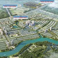 Bán liền kề 1 trệt 2 lầu, giá 3,1 tỷ/căn, ngay khu công nghiệp Long Hậu, hỗ trợ vay
