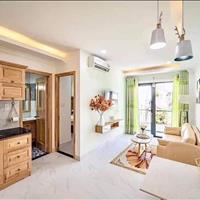 Căn hộ cao cấp 1 phòng ngủ riêng biệt phòng khách riêng biệt giá 9tr 50m2 có ban công