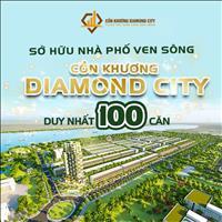Bán nhà phố liền kề 1 trệt 2 lầu, dự án Cồn Khương Diamond City - Trung tâm Ninh Kiều