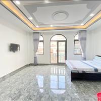 Cho thuê căn hộ Studio 30m2 mặt tiền Hoa Cúc, đầy đủ nội thất tiện nghi, an ninh thoáng mát