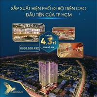 Bán căn hộ cao cấp - Phố đi bộ trên cao đầu tiên tại TP.HCM D-Homme Quận 6 chỉ từ 3,4 tỷ/căn