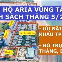 Aria tầng 3,8,11,12, căn 2 phòng ngủ 85m2, giá 2.9 tỷ/căn, full nội thất, giao Quý 3/2021