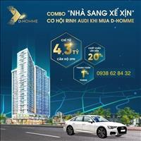 Nhà sang xế xịn - Căn hộ D-Homme Hồng Bàng Quận 6 - Mua nhà trúng xe