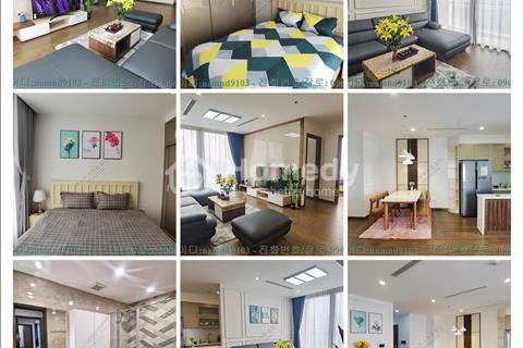 Cho thuê căn hộ 4PN full nội thất đẹp chung cư Vinhomes West Point quận Nam Từ Liêm