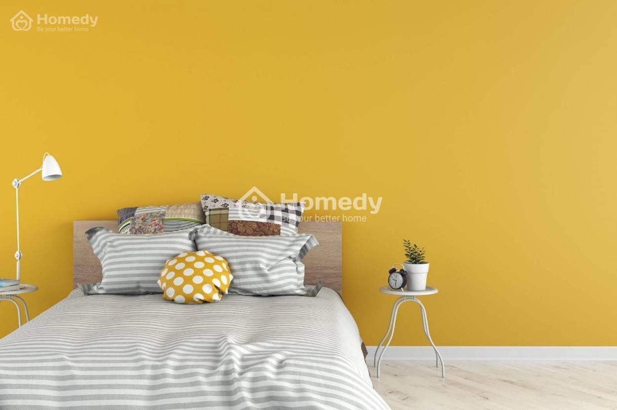 Người mệnh Kim có thể chọn sơn nhà màu vàng kim
