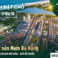 Kđt kề sông, cạnh biển Nam Đà Nẵng, sở hữu chỉ từ 360tr.