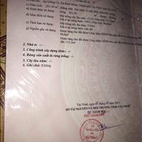 Cần tiền sửa nhà bán gấp lô đất 600m2 chính chủ sổ hồng riêng mặt tiền đường tỉnh Tây Ninh