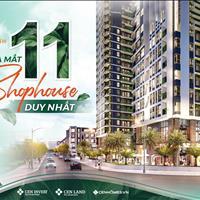 Mở bán 11 lô shophouse khối đế tầng 1, diện tích 38m -112m. Sở hữu lâu dài. Giá từ 60tr/m2