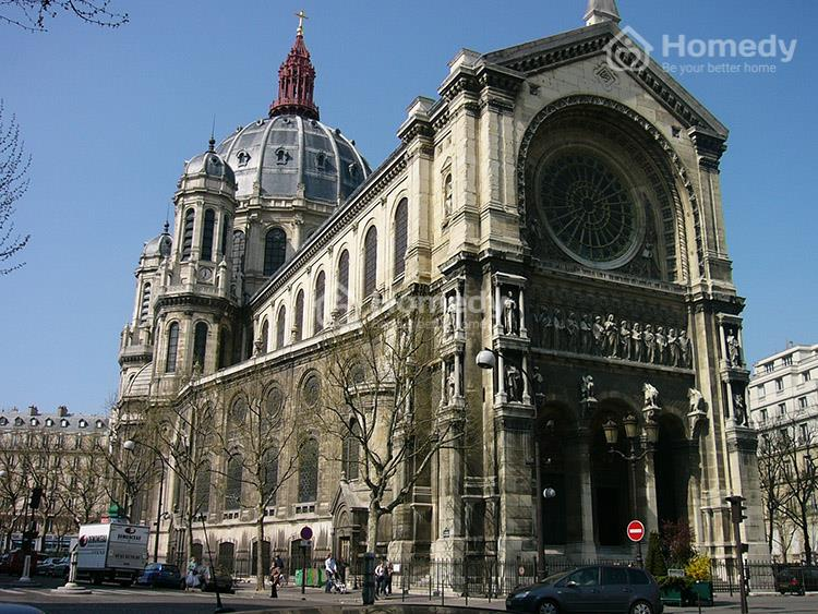 Hoa văn họa tiết là điểm nhấn trong mẫu nhà kiến trúc Pháp