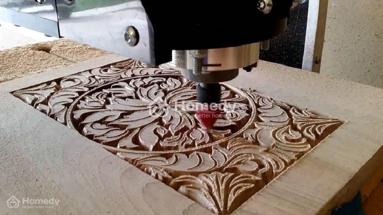 tranh go treo tuong gỗ đục cnc
