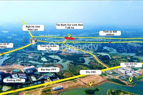 Bán đất quận Thạch Thất - Hà Nội giá 16 triệu/m2