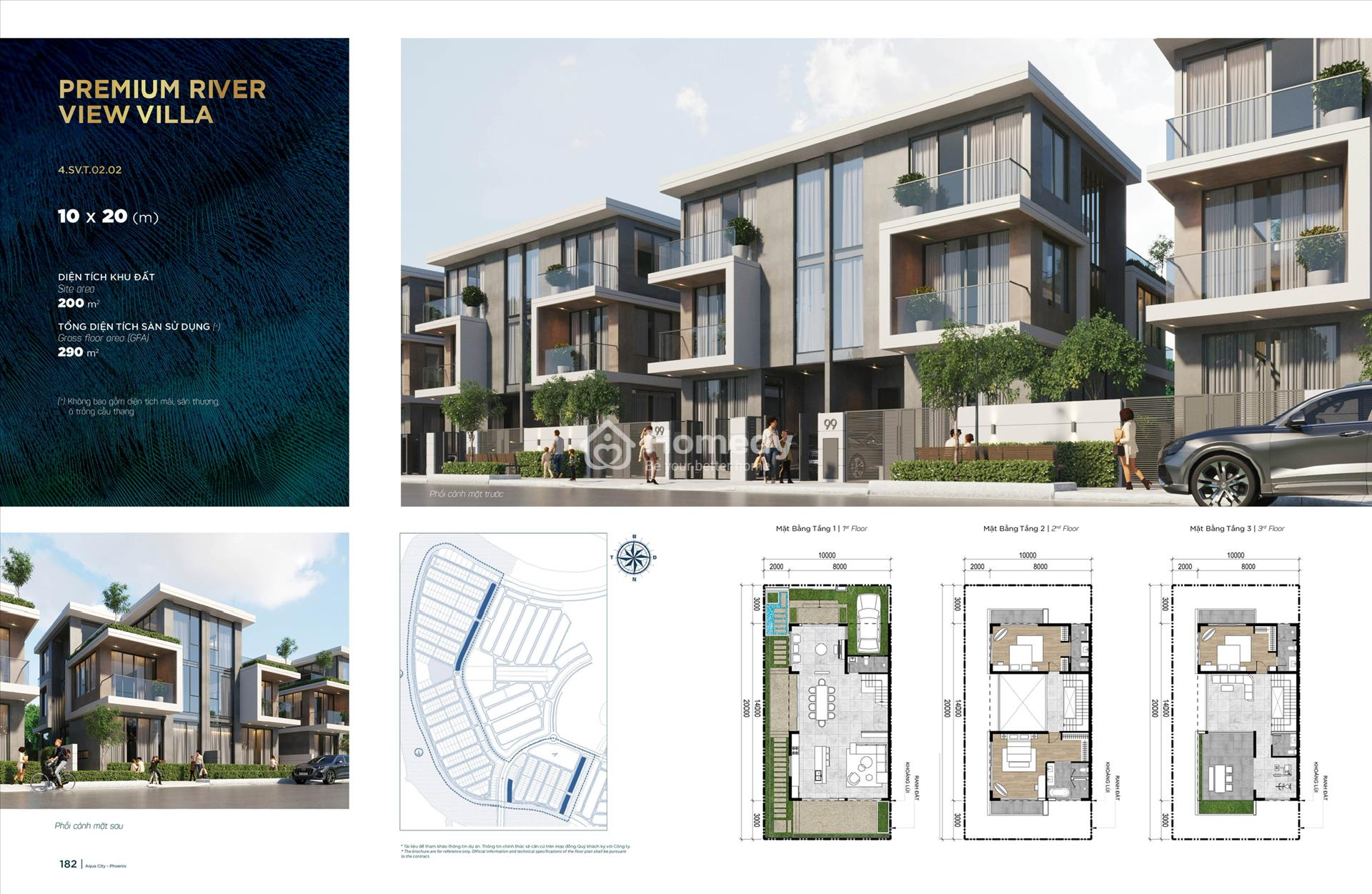 Thiết kế biệt thự tại Khu Phoenix West