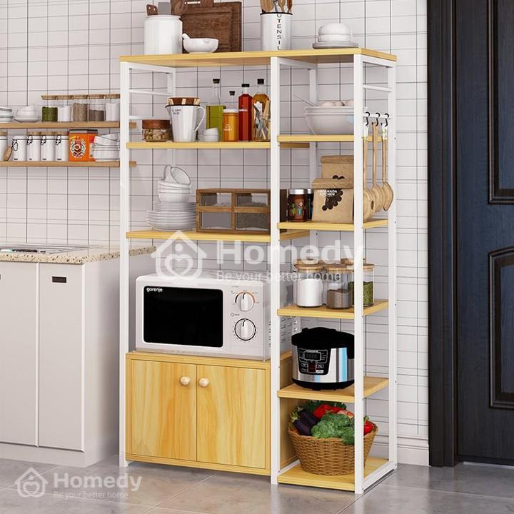 Mẫu kệ bếp gỗ công nghiệp