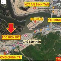 Cần bán gấp lô đất tái định cư Hòn Rớ 2  xã Phước Đồng, diện tích 80m2, giá 1 tỷ 550 triệu