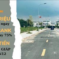 Đất nền sổ riêng, xây dựng 100%, mặt tiền Hà Huy Giáp Quận 12