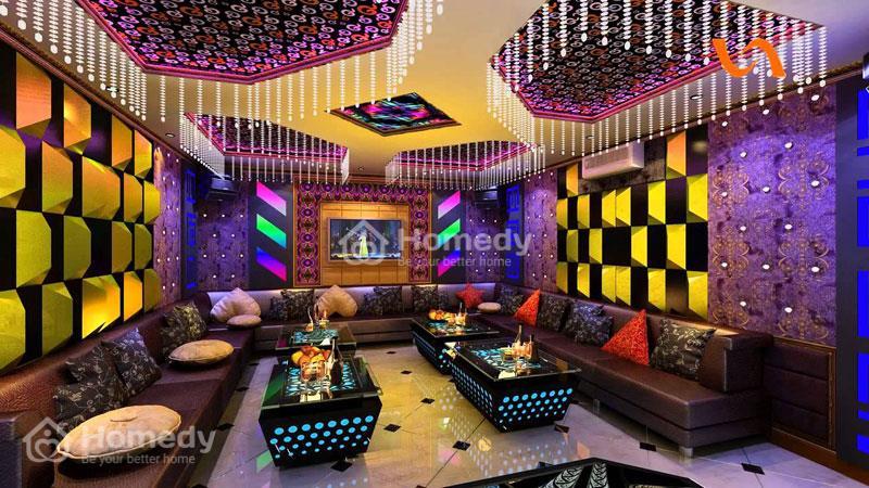Xốp dán tường cách âm phòng karaoke