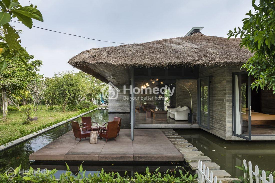 Nhà lá đẹp tại khu du lịch sinh thái, resort
