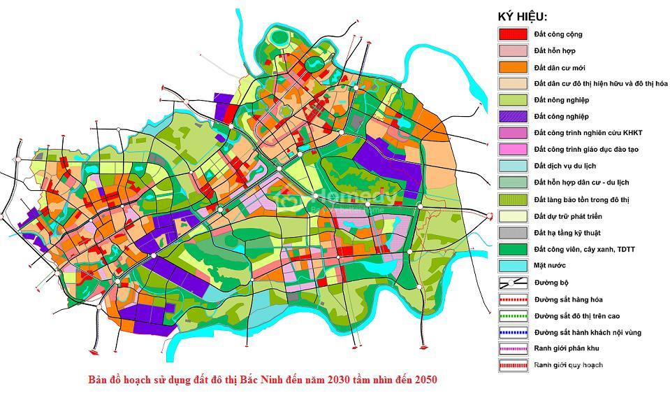 Bản đồ quy hoạch sử dụng đất đô thị