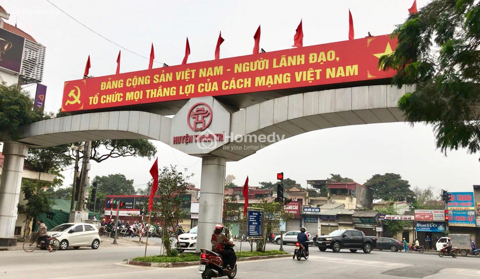 Địa giới hành chính huyện Thanh Trì