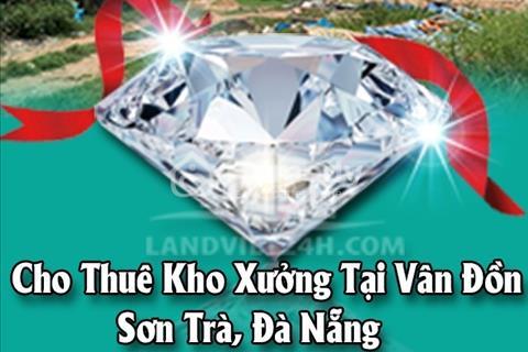 Chính chủ cần cho thuê kho xưởng diện tích 2500m2 tại Vân Đồn, Sơn Trà, Đà Nẵng