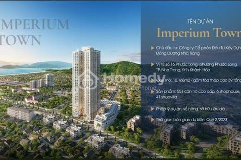 Mua căn hộ cao cấp view biển Nha Trang chỉ thanh toán 1% mỗi đợt, sở hữu lâu dài