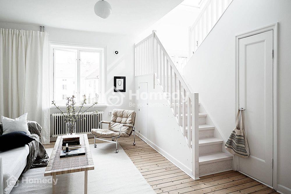 Lưu ý sự kết hợp màu sắc khi sơn nhà màu trắng sứ