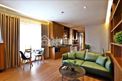 Cho thuê căn hộ dịch vụ cao cấp đầy đủ nội thất 1 phòng ngủ 70m2 tại Âu Cơ Tây Hồ Hà Nội
