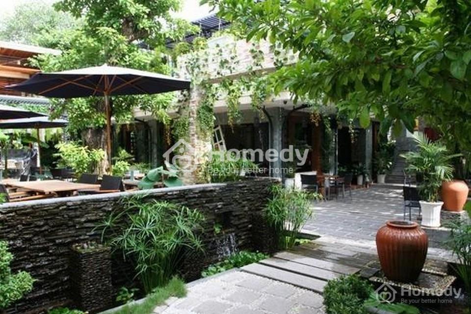 Mẫu thiết kế quán cafe sân vườn nhỏ