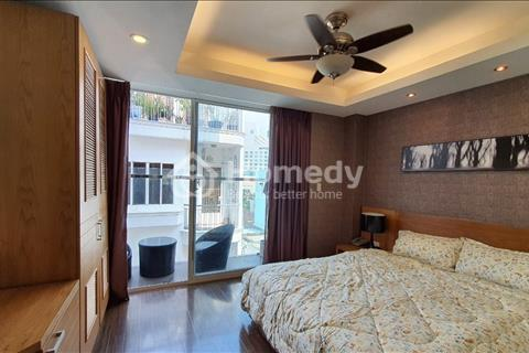 Cho thuê căn hộ ban công full tiện nghi Nguyễn Trãi Q1, ngay ngã 6 Phù Đổng