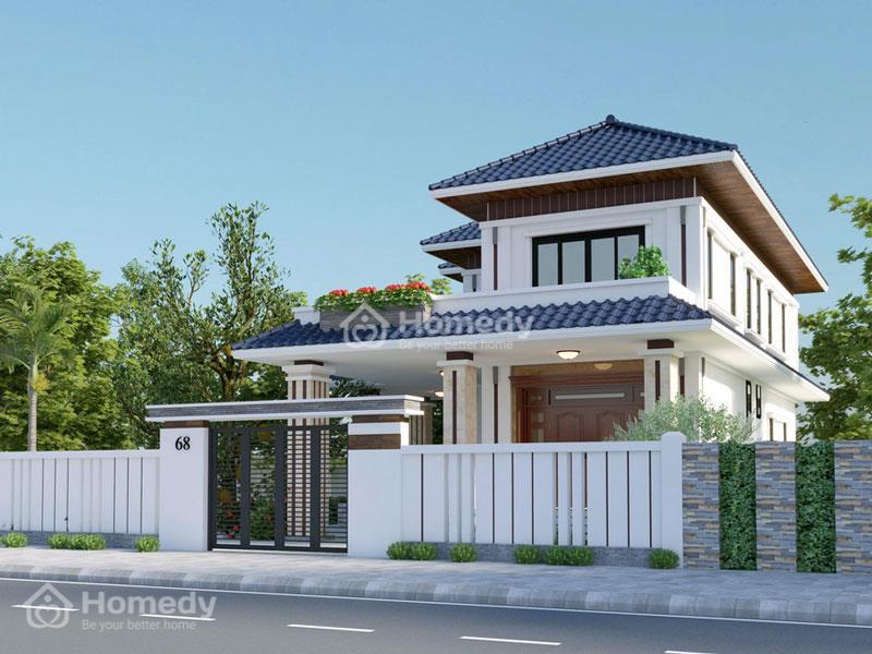 Một số mẫu thiết kế nhà 2 tầng mái Nhật hiện đại khác