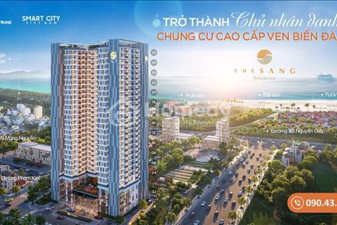 Căn hộ The Sang view biển Mỹ Khê Đà Nẵng hoàn toàn mới, ưu đãi mua trực tiếp CĐT với vốn chỉ 700tr
