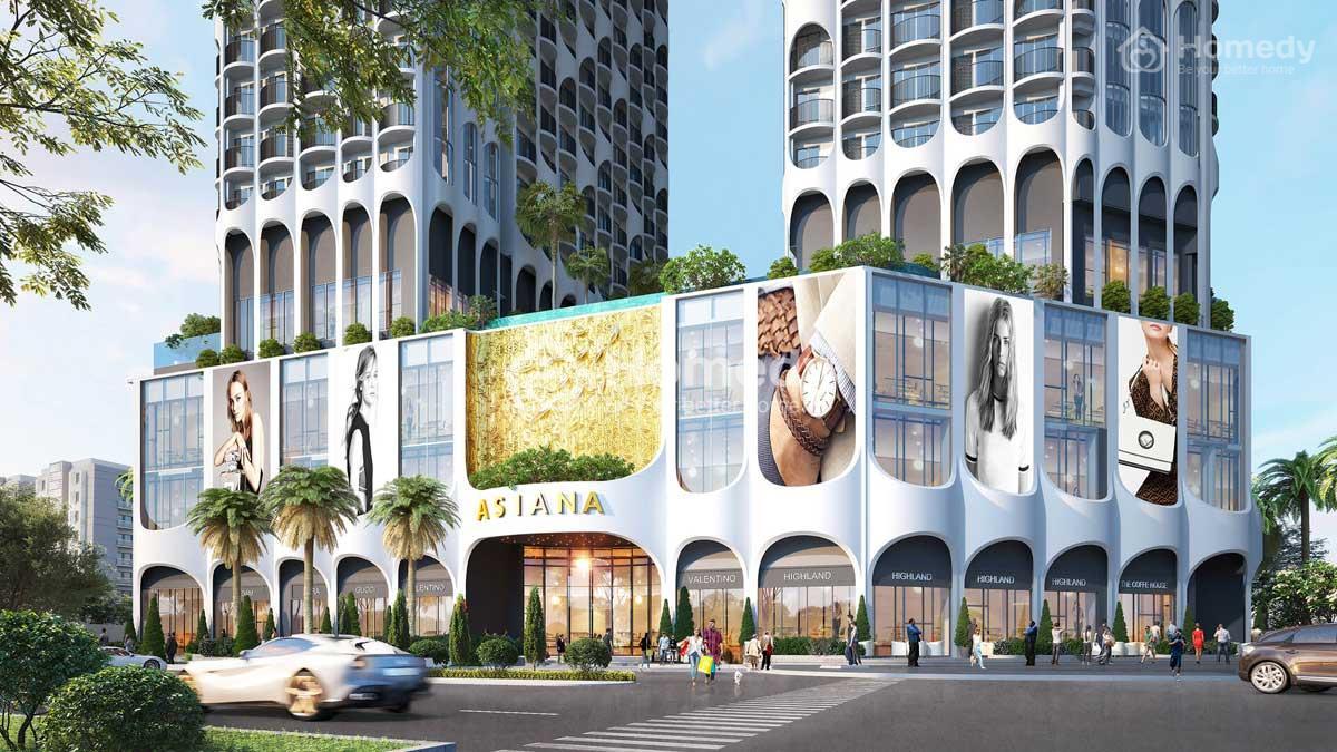 Phối cảnh dự án căn hộ Asiana Luxury Residences Đà Nẵng