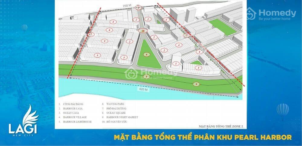 Mặt bằng Lagi New City Bình Thuận