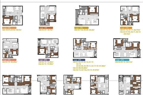 Căn hộ The Gold View Quận 4, 1 - 2 - 3 phòng ngủ, 55tr/m2, nội thất đầy đủ, hỗ trợ vay 70%