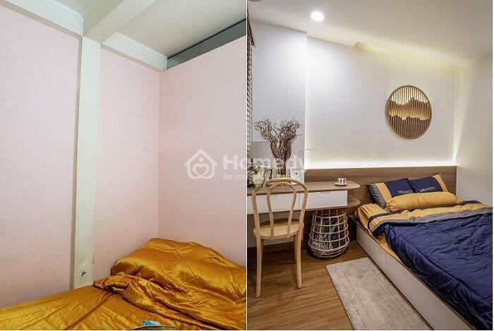 Biến nhà tập thể thành căn hộ studio cho thuê
