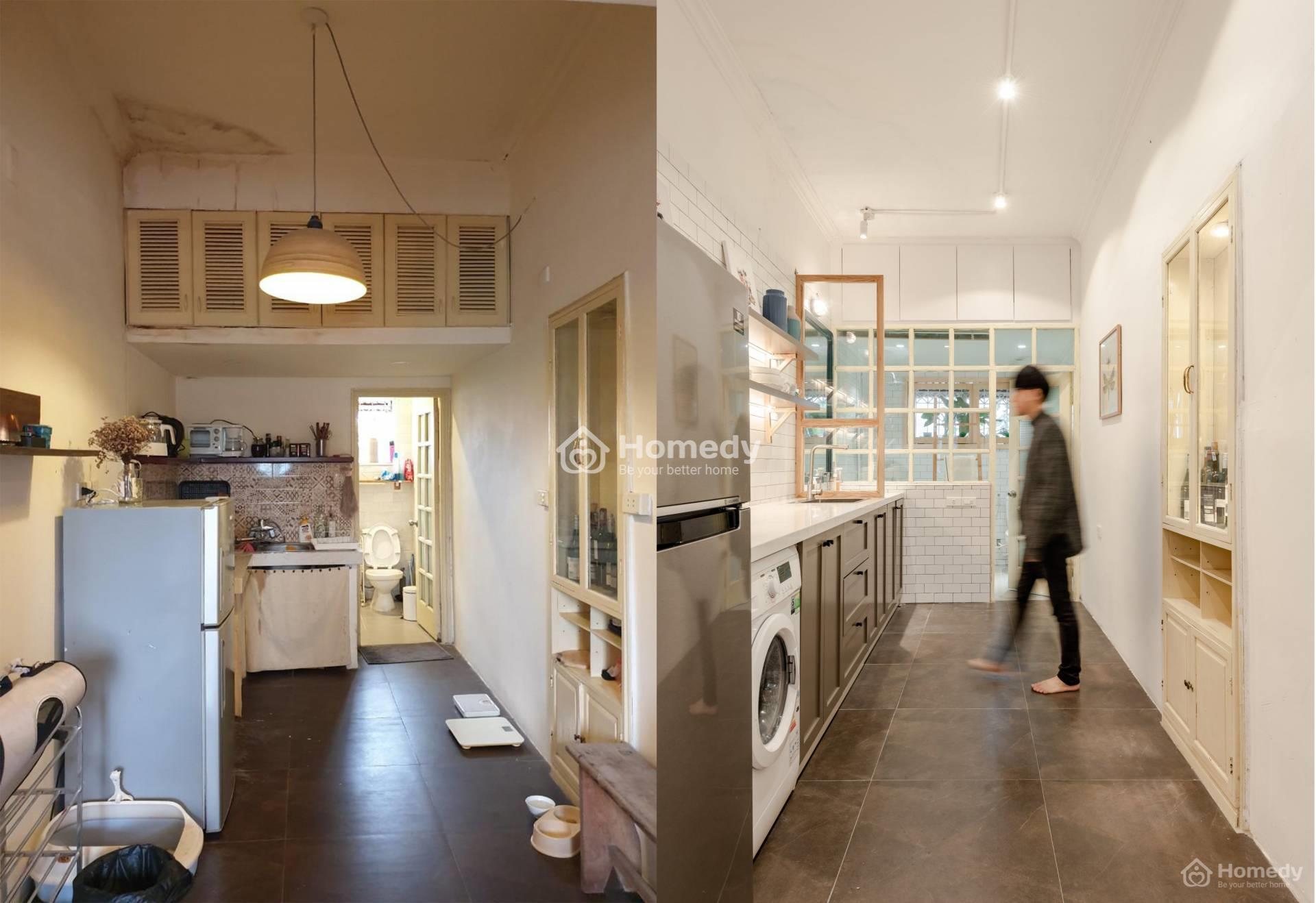 Cho thuê nhà tập thể dưới dạng homestay