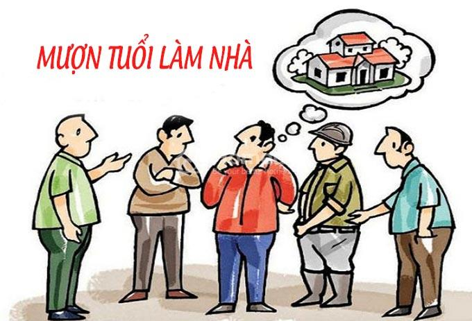 Cách chọn người mượn tuổi làm nhà 2021